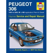 Haynes manual: Peugeot 306 Petrol and Diesel (93-02) K to 02