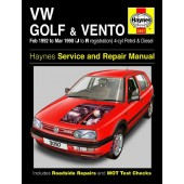 Haynes manual: Volkswagen Golf and Vento Petrol and Diesel (Feb 92-Mar 98) J to R
