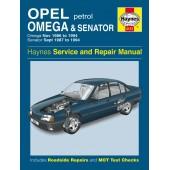 Haynes Opel Omega & Senator Petrol (Nov 86 - 94)