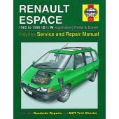 Haynes manual: Renault Espace Petrol and Diesel (85-96) C to N