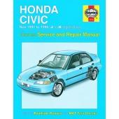 Haynes manual: Honda Civic (Nov 91-96) J to N