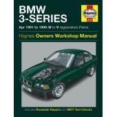 Haynes BMW 3-Series Petrol (Apr 91 - 99) H to V
