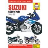 Haynes manual: Suzuki GS500 Twin (89-08)