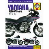 Haynes manual: Yamaha XJ900F Fours (83-94)