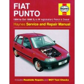 Haynes manual: Fiat Punto Petrol and Diesel (94-Oct 99) L to V