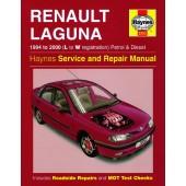 Haynes manual: Renault Laguna Petrol and Diesel (94-00) L to W