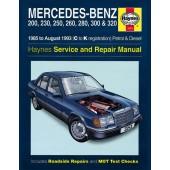 Haynes manual: Mercedes-Benz 124 Series Petrol and Diesel (85-Aug 93) C to K