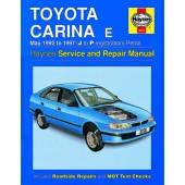 Haynes manual: Toyota Carina E Petrol (May 92-97) J to P
