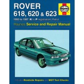Haynes manual: Rover 618, 620 and 623 Petrol (93-97) K to P
