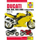 Haynes manual: Ducati 600, 620, 750 and 900 2-valve V-Twins (91-05)