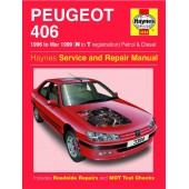 Haynes manual: Peugeot 406 Petrol and Diesel (96-Mar 99) N to T