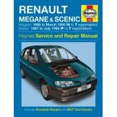 Haynes manual: Renault Megane and Scenic Petrol and Diesel (96-99) N to T