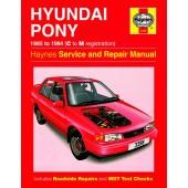 Haynes Hyundai Pony (85 - 94) C to M