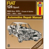 Haynes Fiat 124 Sport Coupe & Spider (68 - 78)