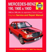 Haynes manual: Mercedes-Benz 190, 190E and 190D Petrol and Diesel (83-93) A to L