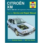 Haynes manual: Citroen XM Petrol and Diesel (89-00) G to X