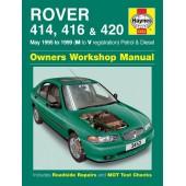 Haynes manual: Rover 414, 416 & 420 Petrol & Diesel  (May 95-99) M to V