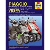 Haynes Piaggio (Vespa) Scooters (91 - 09)