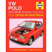 Haynes manual: Volkswagen Polo Hatchback Petrol and Diesel (94-99) M to S