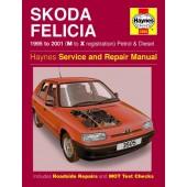 Haynes manual: Skoda Felicia Petrol and Diesel (95-01) M to X