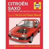 Haynes manual: Citroen Saxo Petrol and Diesel (96-04) N to 54