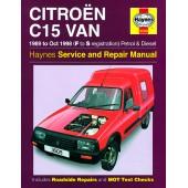 Haynes Citroën C15 Van Petrol & Diesel (89 - Oct 98) F to S