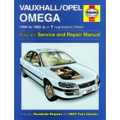 Haynes manual: Vauxhall/Opel Omega Petrol (94-99) L to T