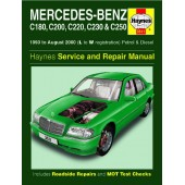 Haynes manual: Mercedes-Benz C-Class Petrol and Diesel (93-Aug 00) L to W