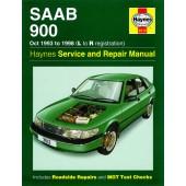 Haynes Saab 900 (Oct 93 - 98) L to R