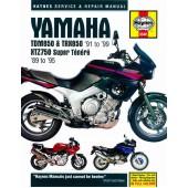 Haynes manual: Yamaha TDM850, TRX850 and XTZ750 (89-99)