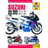 Haynes manual: Suzuki GSX-R600 and 750 (96-00)