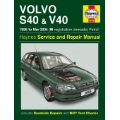Haynes manual: Volvo S40 & V40 Petrol (96-Mar 04) N-04 reg.