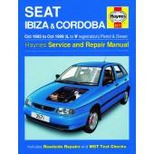 Haynes manual: Seat Ibiza and Cordoba Petrol and Diesel (Oct 93-Oct 99) L to V