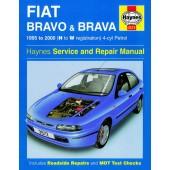 Haynes manual: Fiat Bravo and Brava Petrol (95-00) N to W