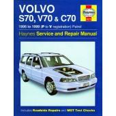 Haynes manual: Volvo S70, V70 and C70 Petrol (96-99) P to V