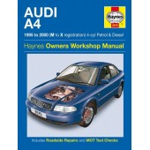 Haynes manual: Audi A4 Petrol and Diesel (95-00) M to X