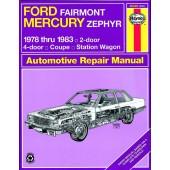 Haynes Ford Fairmont & Mercury Zephyr (78 - 83)