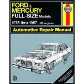 Haynes Ford & Mercury Full-size (75 - 87)