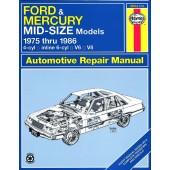 Haynes Ford & Mercury Mid-size (75 - 86)