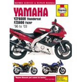 Haynes manual: Yamaha YZF600R Thundercat & FZS600 Fazer (96-03)