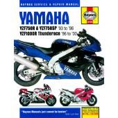 Haynes manual: Yamaha YZF750R and YZF1000R Thunderace (93-00)