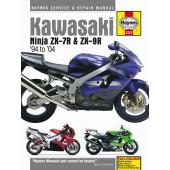 Haynes manual: Kawasaki Ninja ZX-7R and ZX-9R (ZX750P, ZX900B/C/D/E) (94-04)