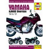 Haynes manual: Yamaha XJ900S Diversion (94-01)