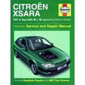 Haynes manual: Citroen Xsara Petrol and Diesel (97-Sept 00) R to W