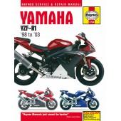 Haynes manual: Yamaha YZF-R1 (98-03)