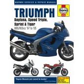 Haynes manual: Triumph Fuel Injected Triples (97-05)