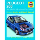 Haynes manual: Peugeot 206 Petrol and Diesel (98-01) S to X