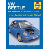 Haynes manual: Volkswagen Beetle Petrol and Diesel (Apr 99-07) T-57 reg.
