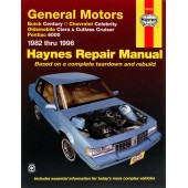 Haynes General Motors: Buick Century, Chevrolet Celebrity, Oldsmobile Ciera, Cutlass Cruiser & Pontiac 6000 (82-95)