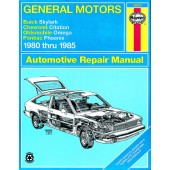 Haynes General Motors: Buick Skylark, Chevrolet Citation, Oldsmobile Omega & Pontiac Phoenix (80 - 85)